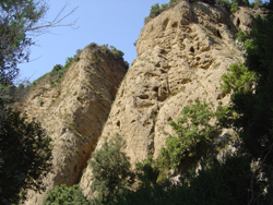 Canyon Valli Cupe - Pareti del canyon